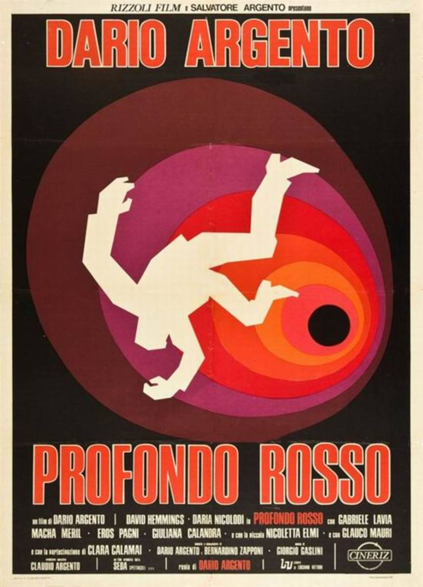 Deep Red (1975) Italian poster