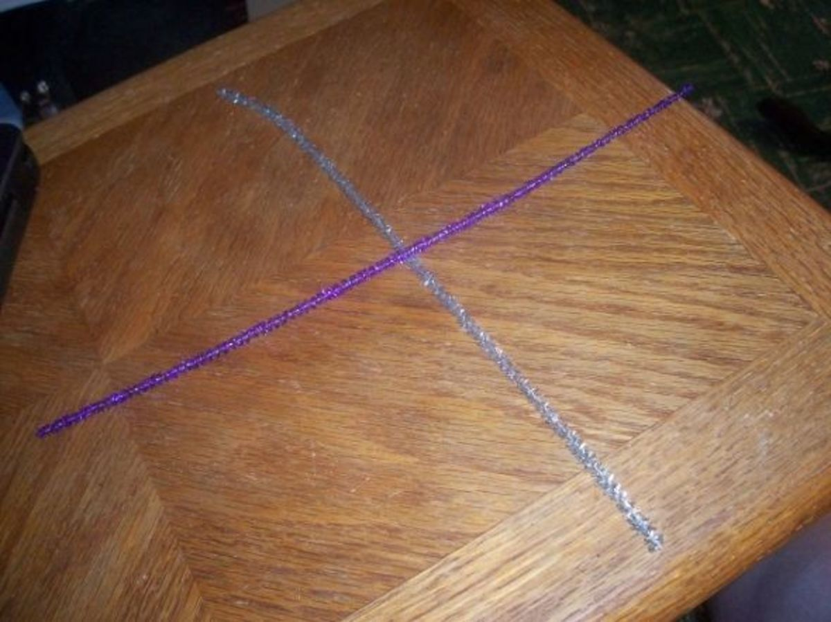 Twist Pipe Cleaners Together