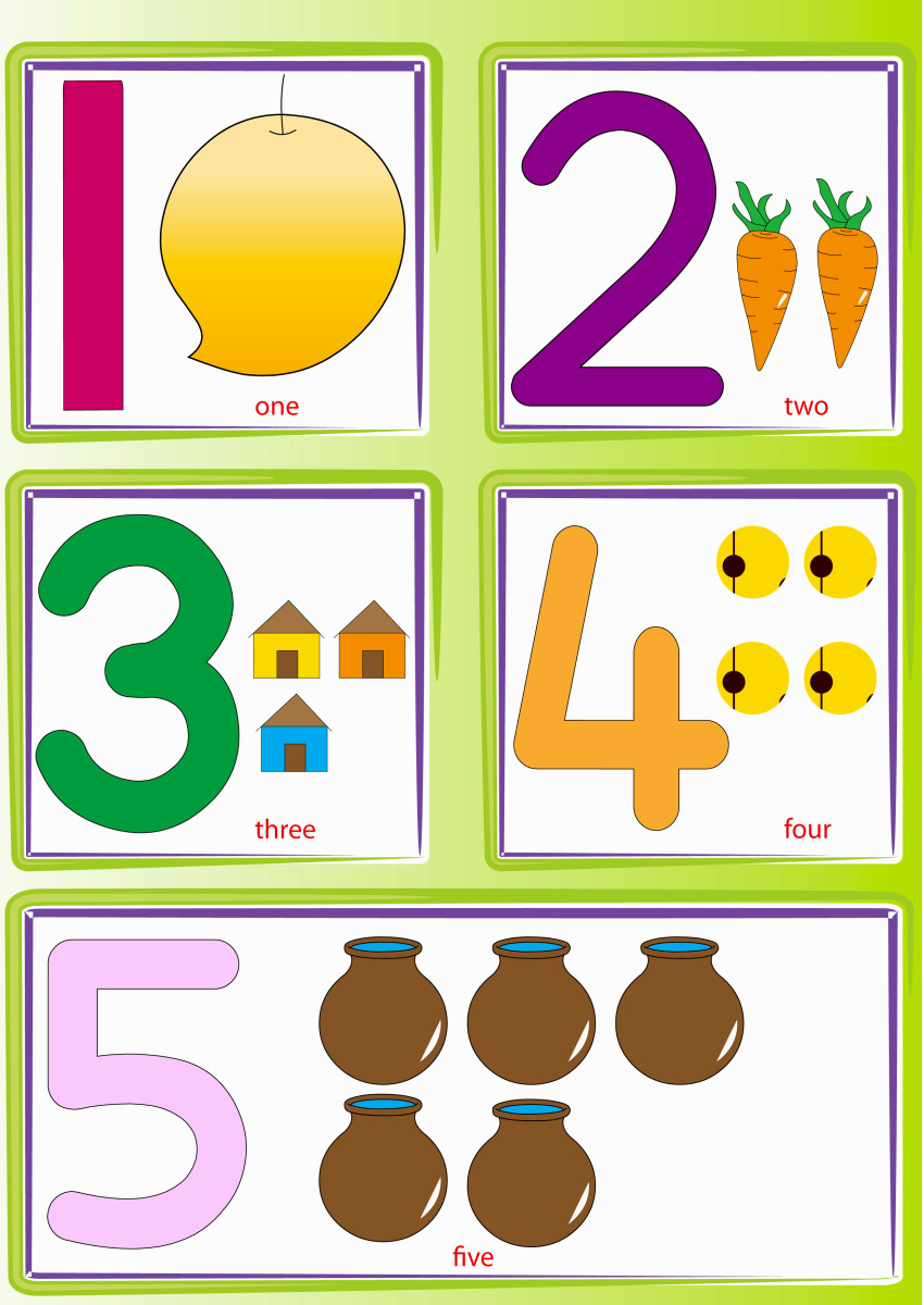 Number Recognition Worksheets Activities Hubpages