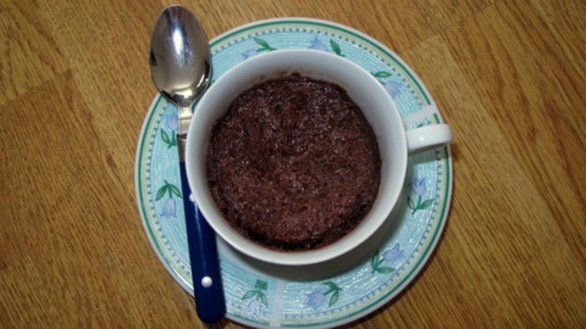 Quick Microwave Brownies in a Mug Recipe