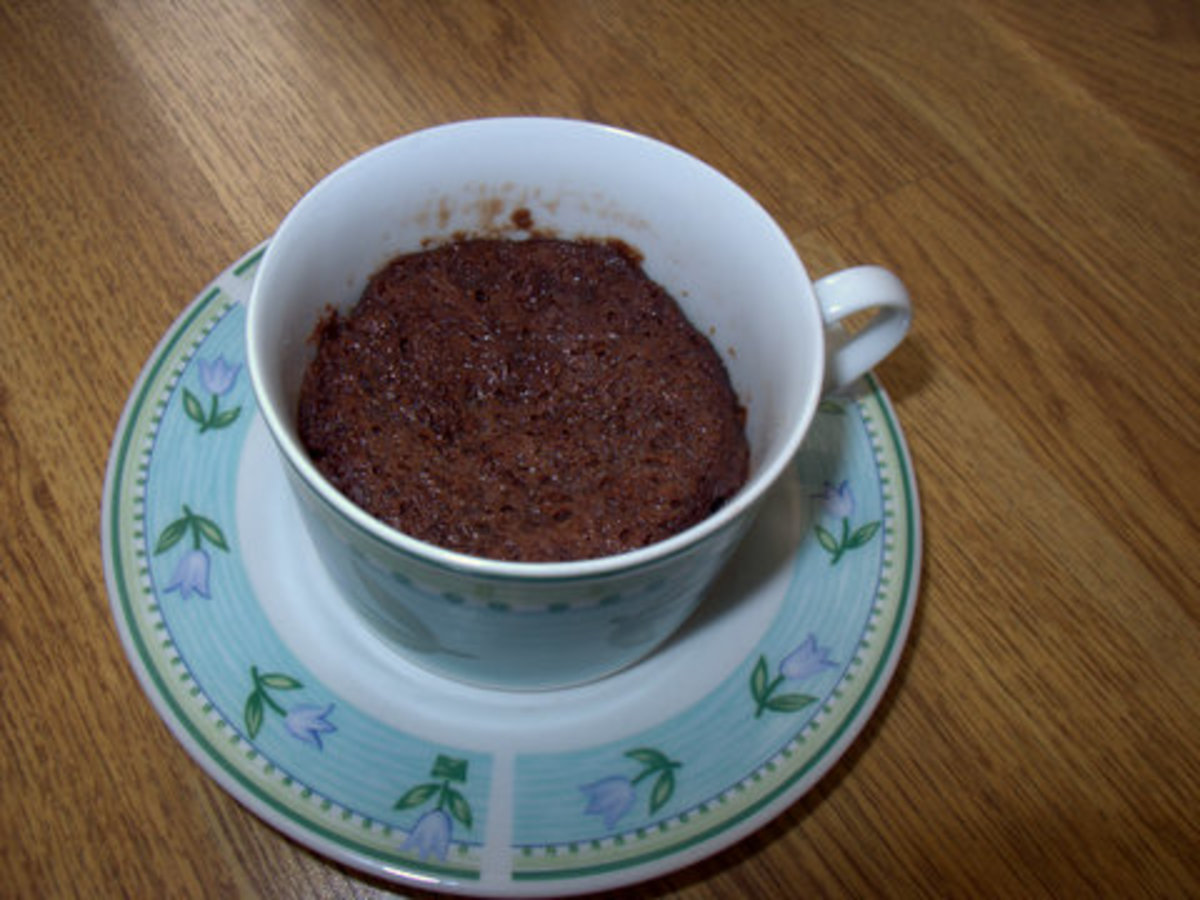 Quick Mug Brownie for 1