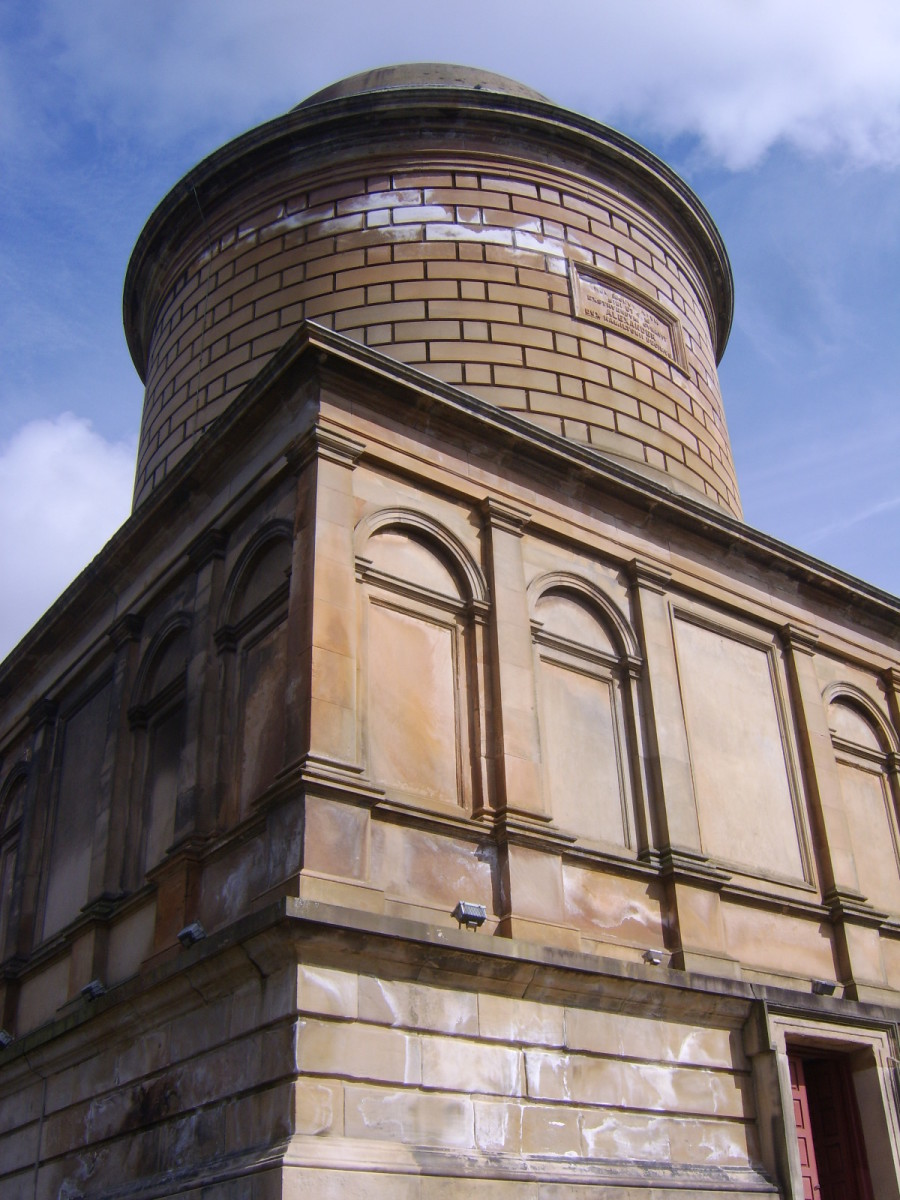 Rear (west facing side) of Hamilton mausoleum