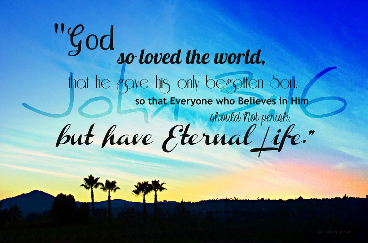 One of God's attributes is love.