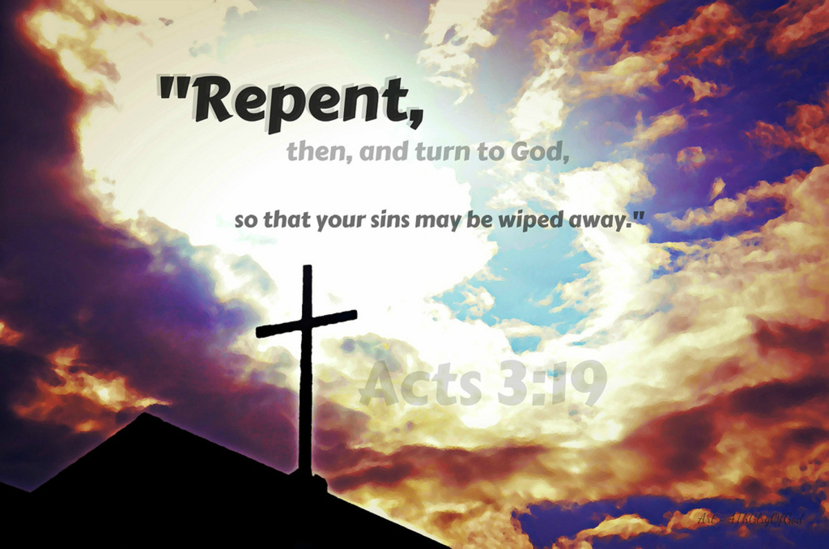 All of us need to repent and accept Christ as our Savior and Lord.