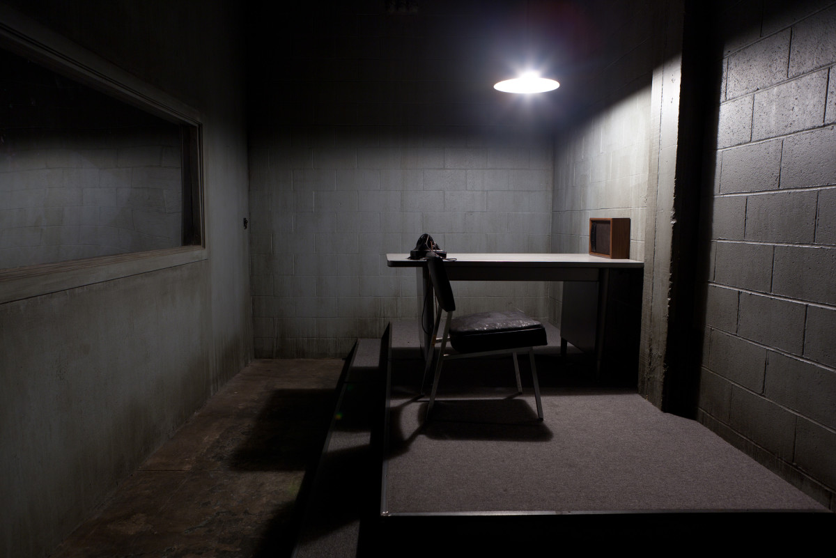 The Interior Decoration of Police Interrogation Rooms