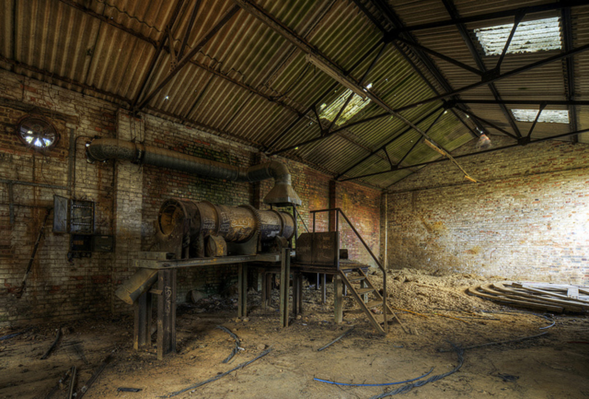 Pluckley Brickworks - haunted by The Screaming Man