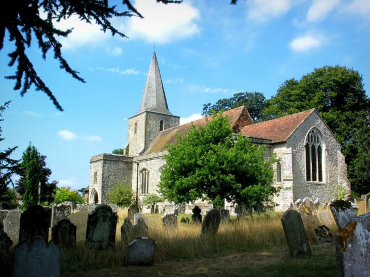 St. Nicholas Church - haunted by The White Lady and The Red Lady
