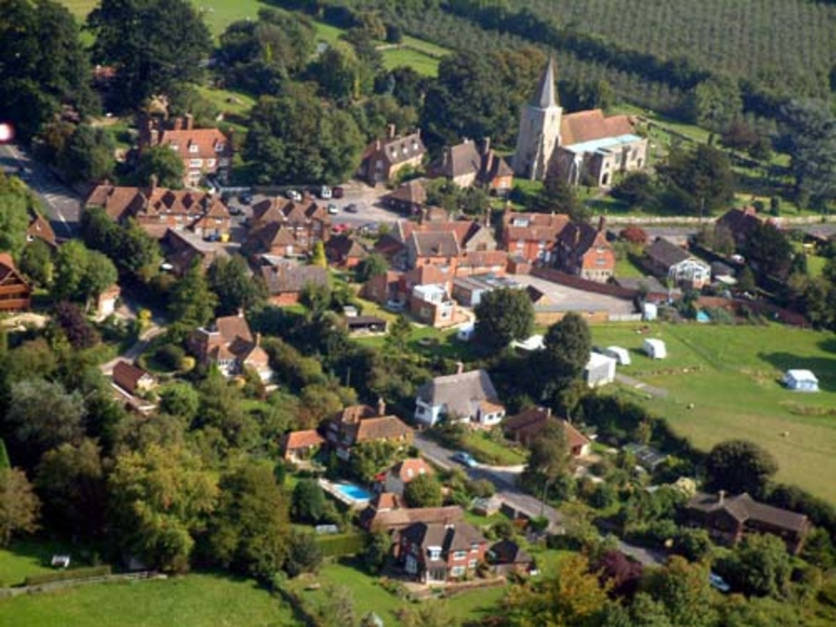 Pluckley - The most haunted village in Britain