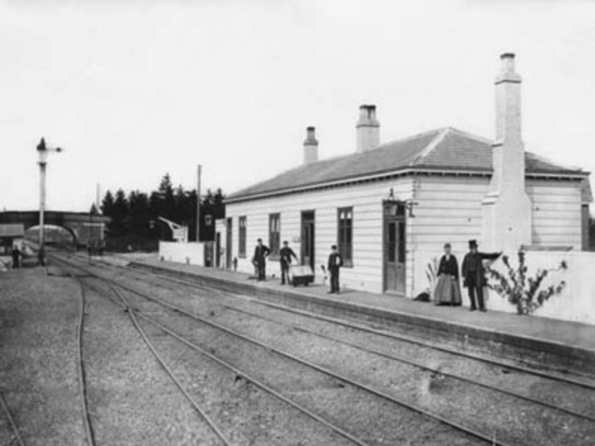 Pluckley railway station