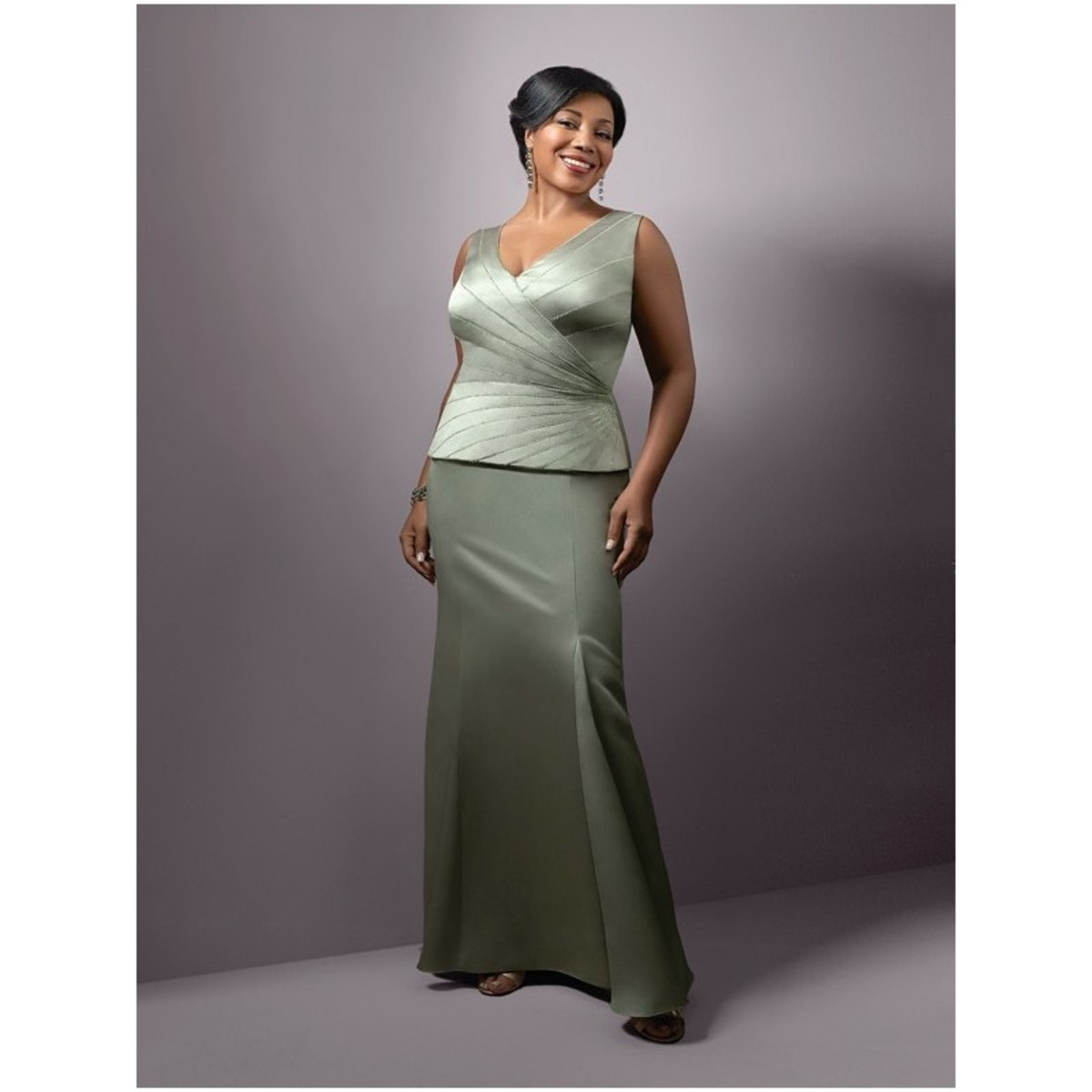 Plus Size Mother Of The Bride Wedding Dress