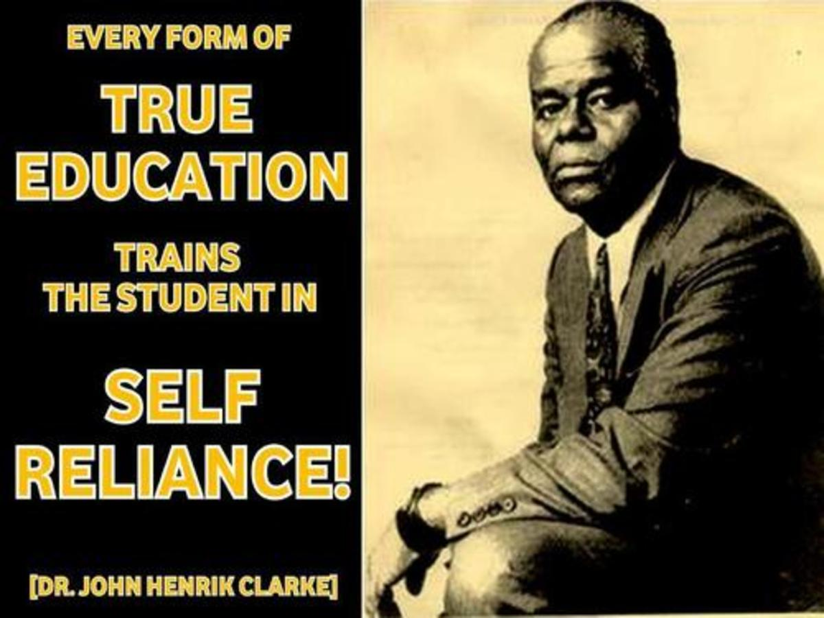 "What we do for ourselves depends on what we know of ourselves and what we accept about ourselves"" (Timothy Callender) Echoing Clarke's Master Teaching Lessons and Lectures"