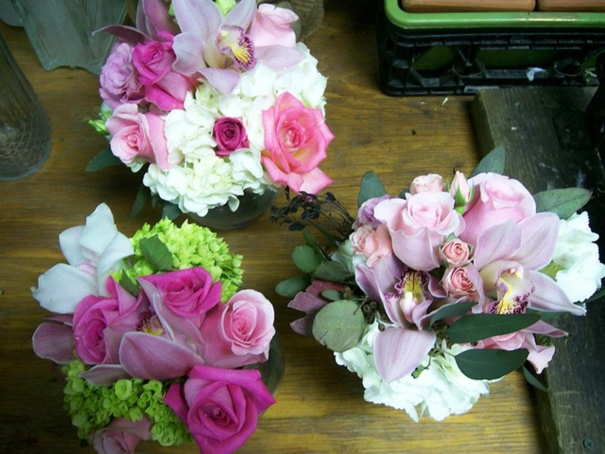 Nosegay Bridal Bouquet Assortment