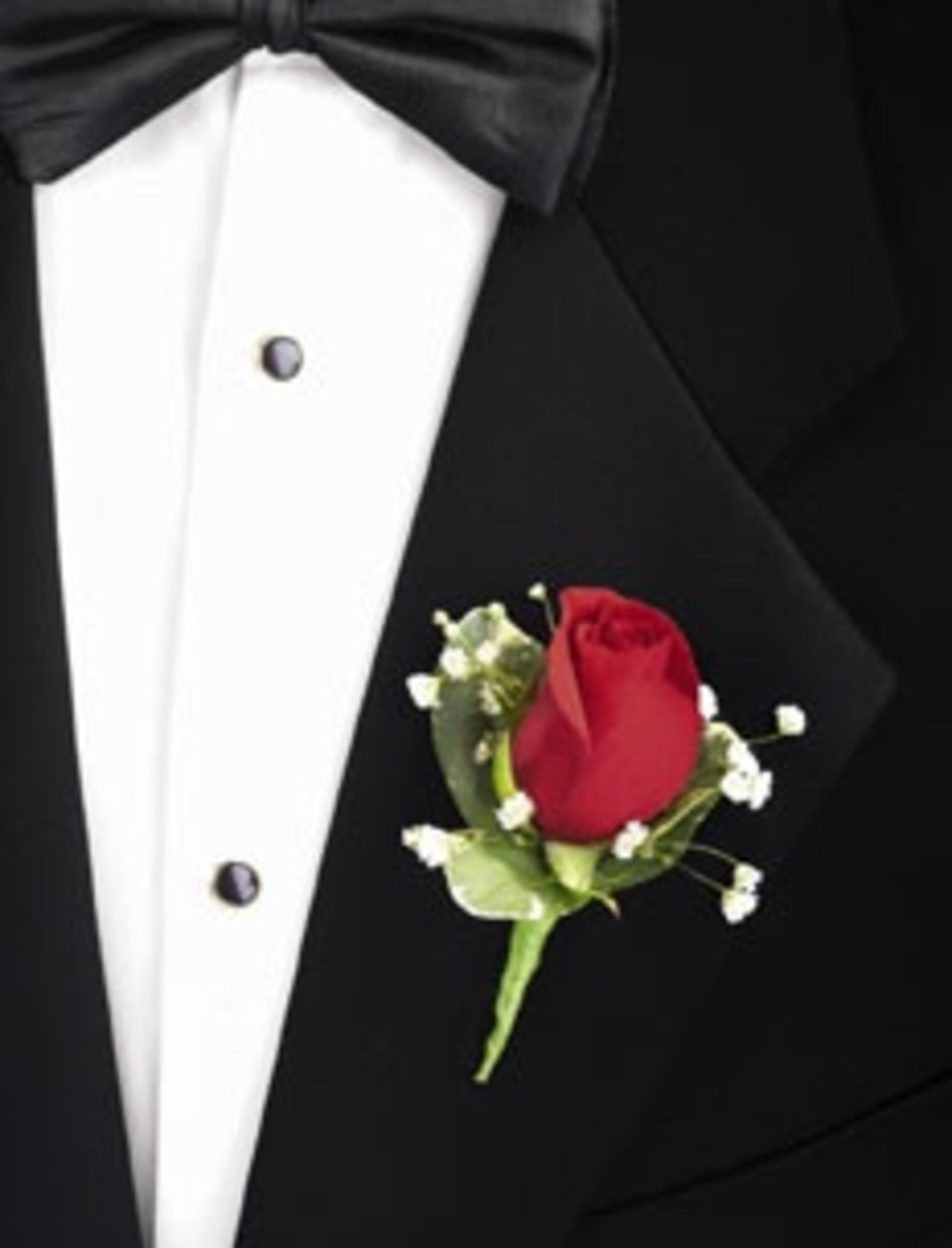 Groom With Boutonnière