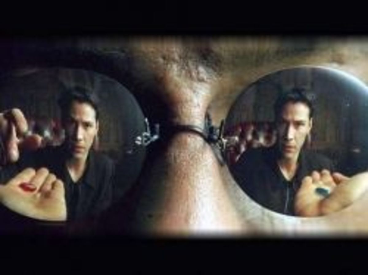 Red pill or blue pill?  Click on the picture to see the clip...