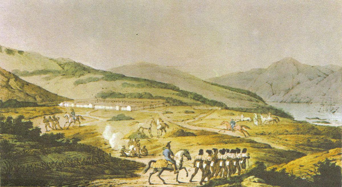 The Presidio in 1817