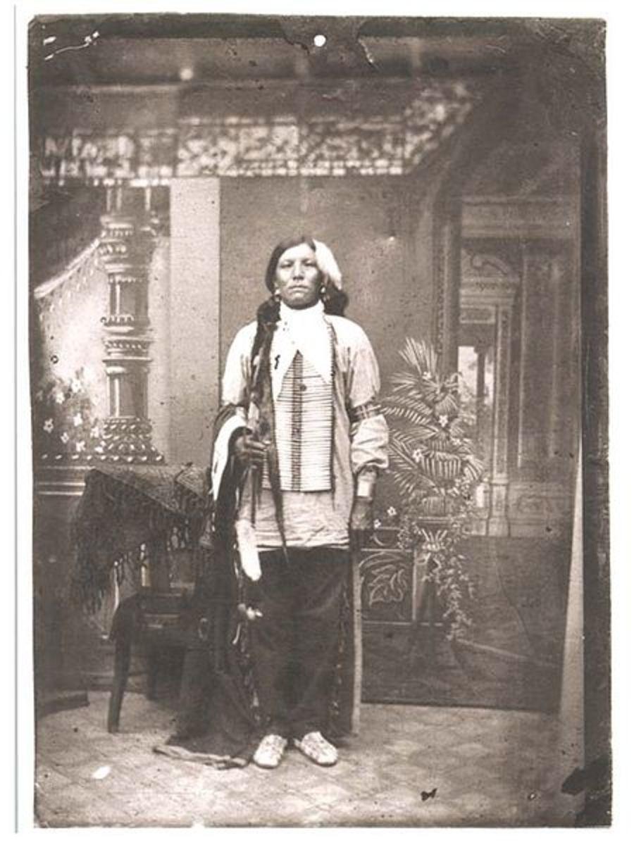 Photo Of crazyhorse 1877