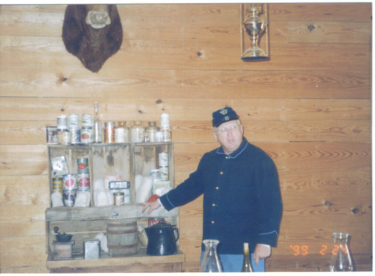 Fort Concho tour guide (summer 2008)