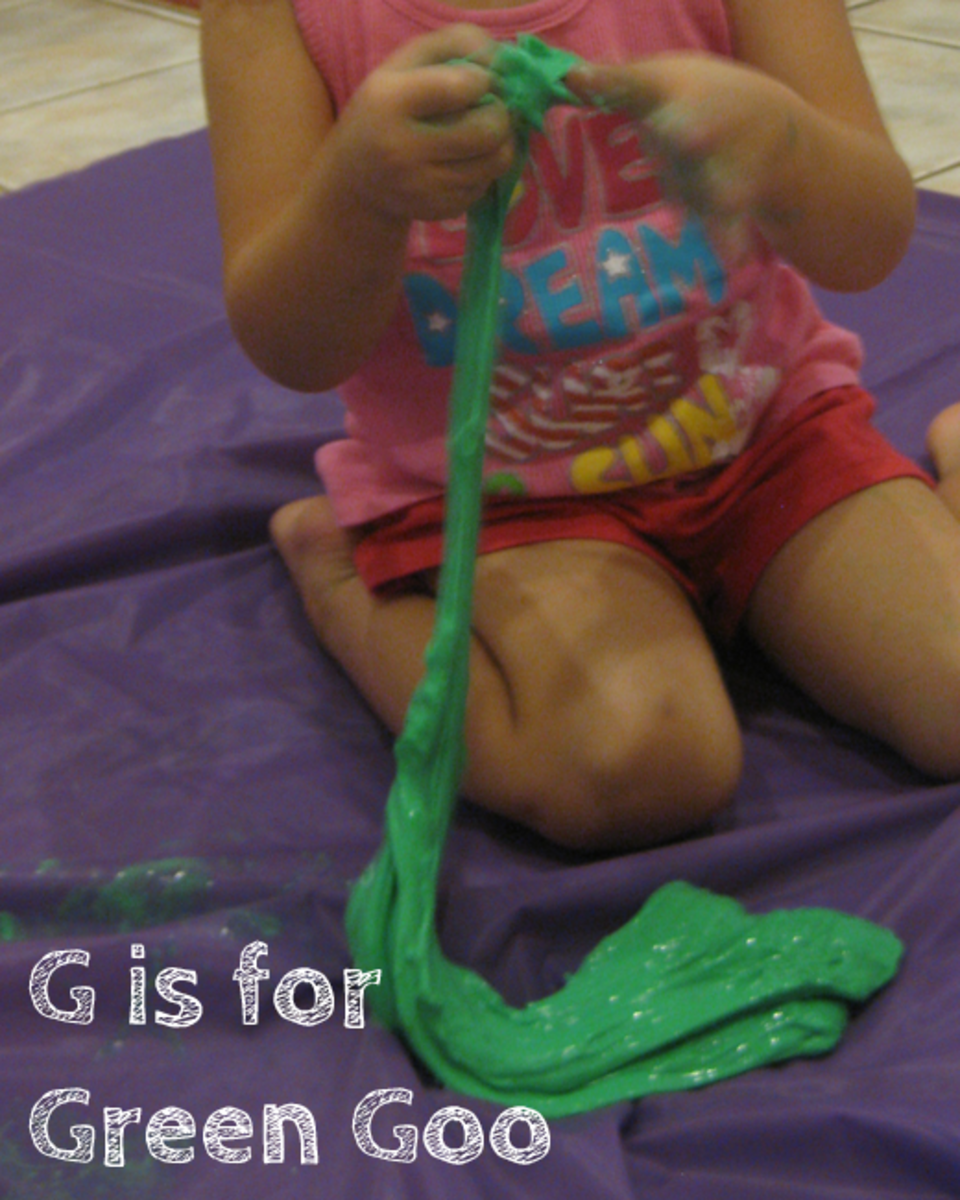 Playing with the Green Goo
