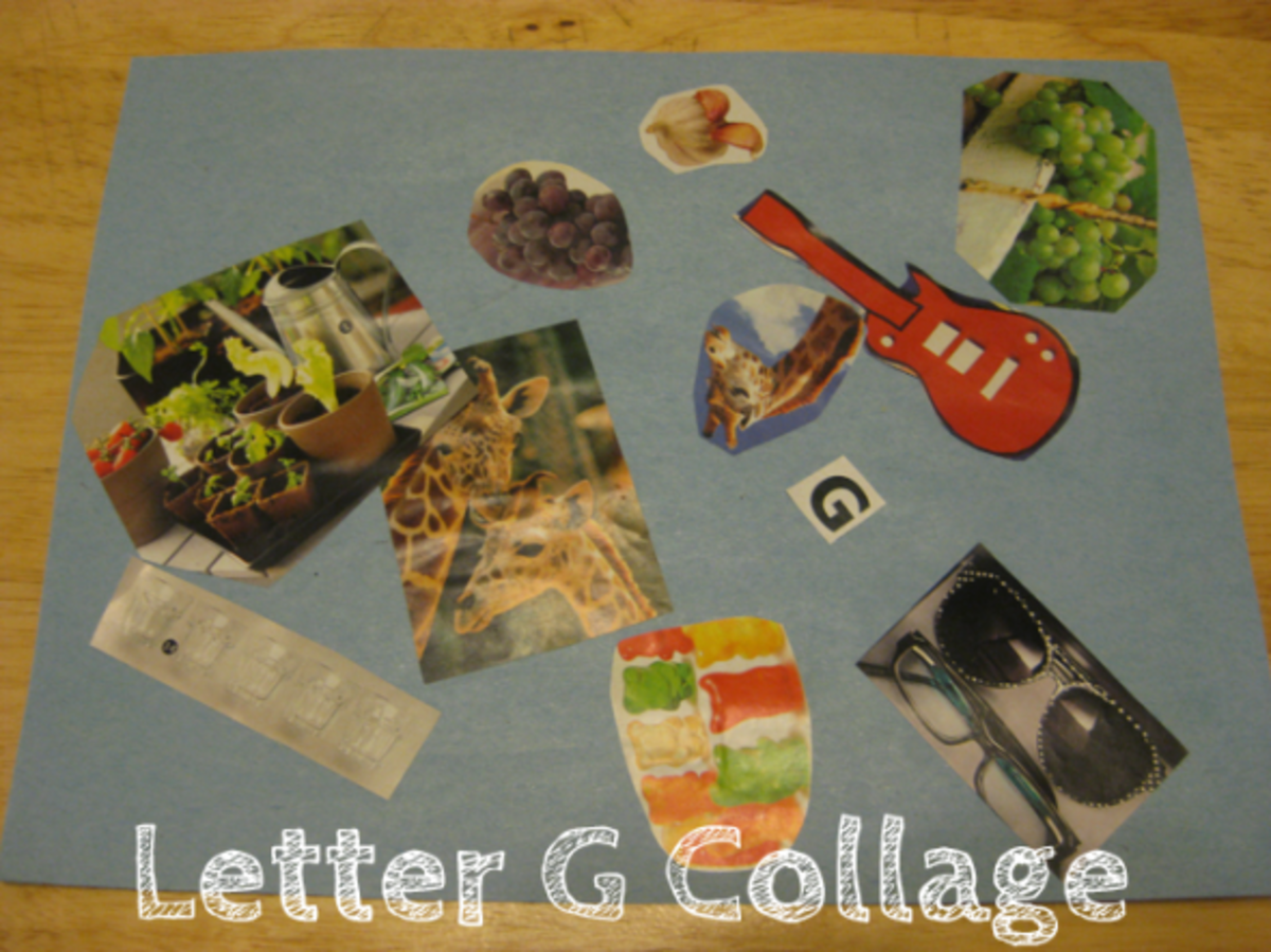 letter g collage alphabet activities for kids