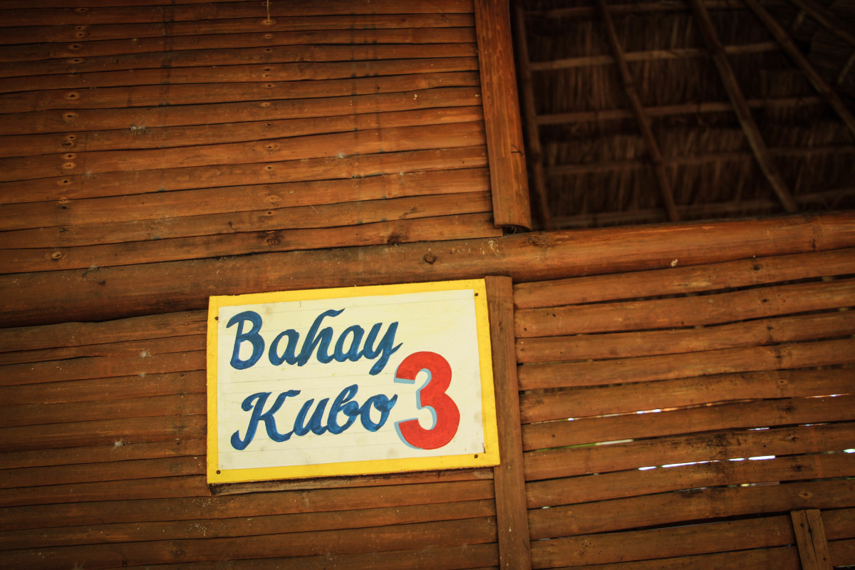 Bahay Kubo (Larger Cottage) with a room inside at P1,000