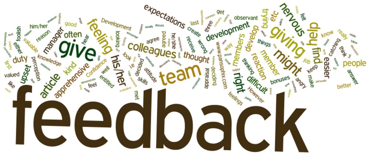 Effective Feedback Word Cloud