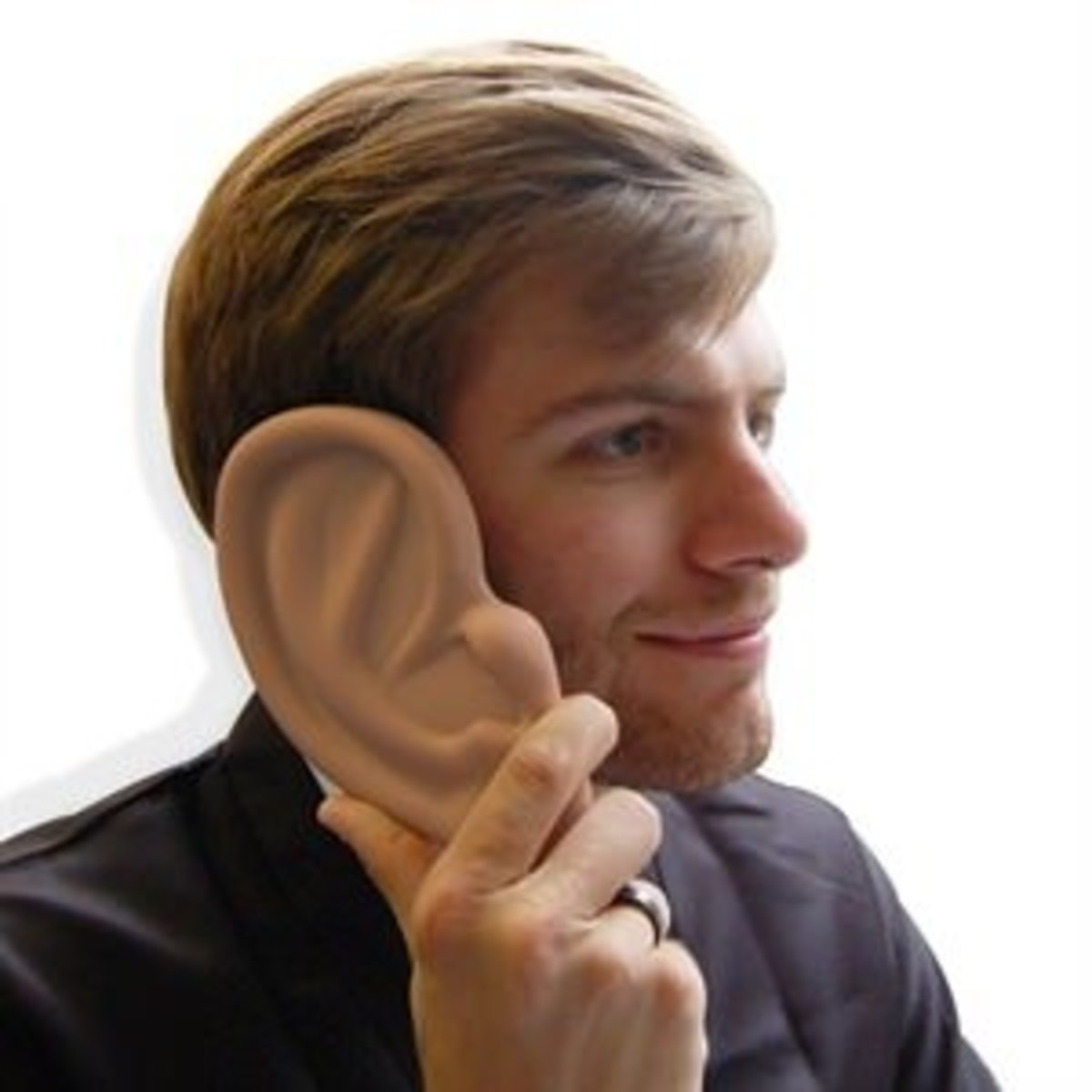 The 3D silicone iPhone ear case