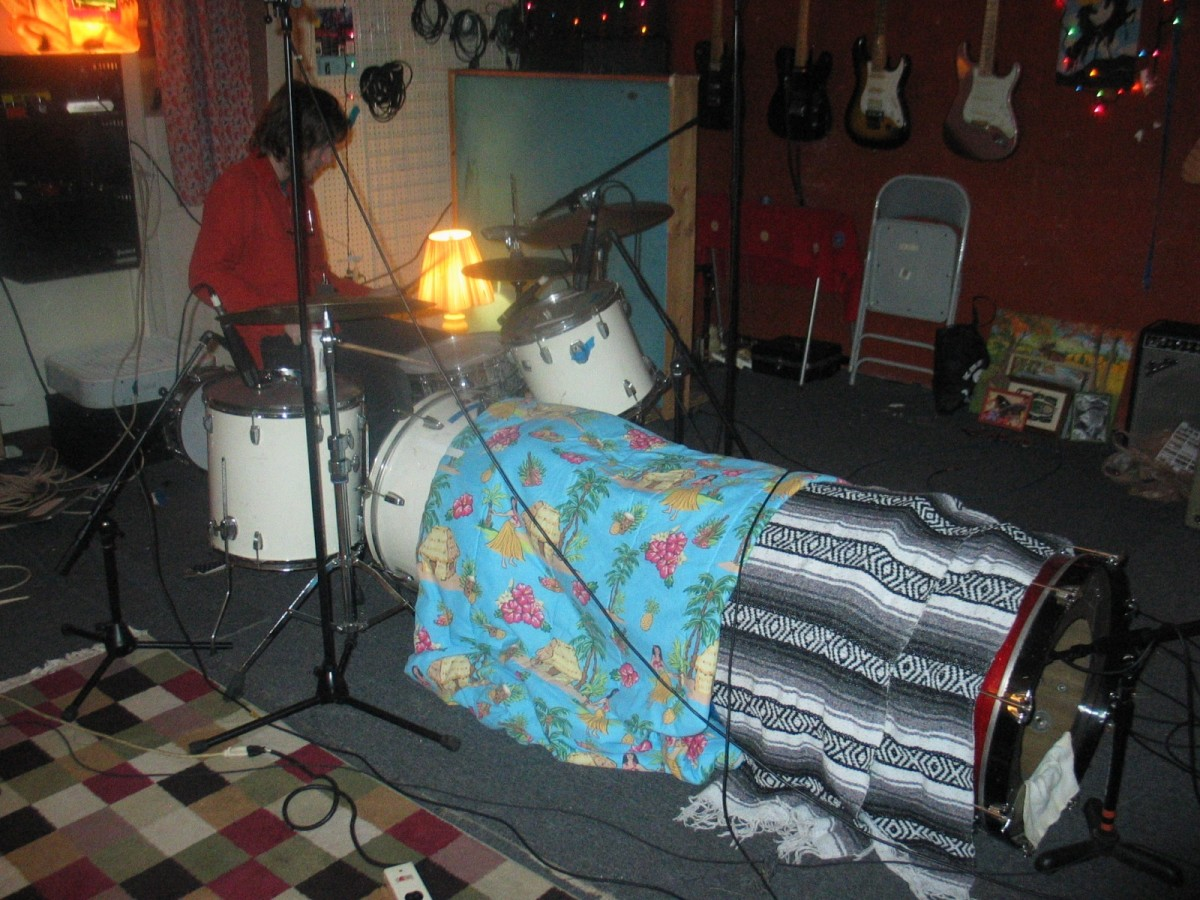 Grab your favorite blankies and snuggle up to a nice kick drum tunnel.