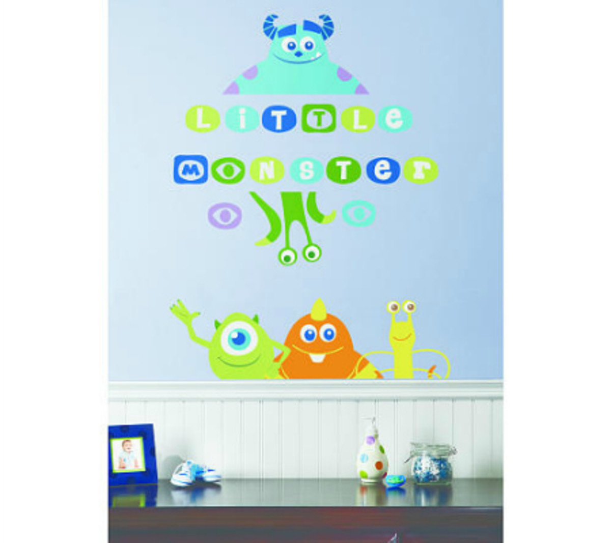 Disney Pixar Monsters University 3 Piece Room In A Box: How To Decorate A Monsters Inc Nursery
