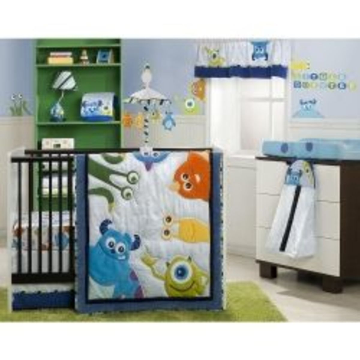 How to Decorate a Monsters Inc Nursery