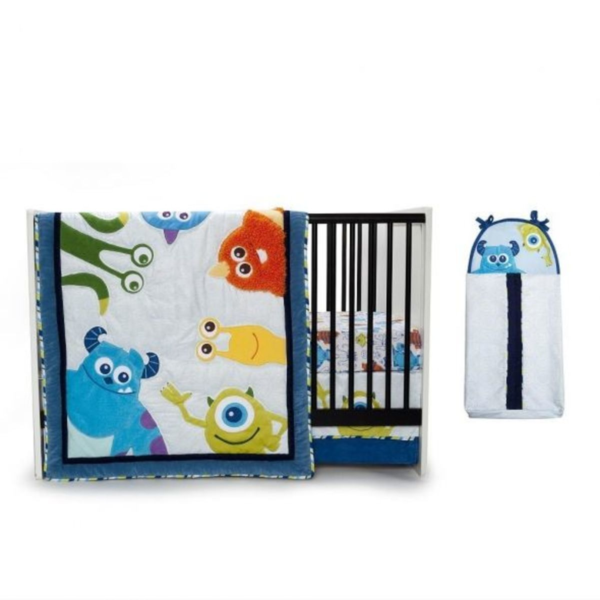 Monsters Inc Crib Set