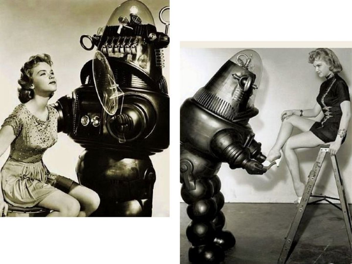 Robby The Robot Publicity Shots