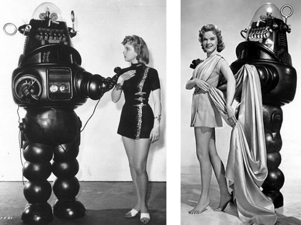 Robby The Robot Photo Shoot