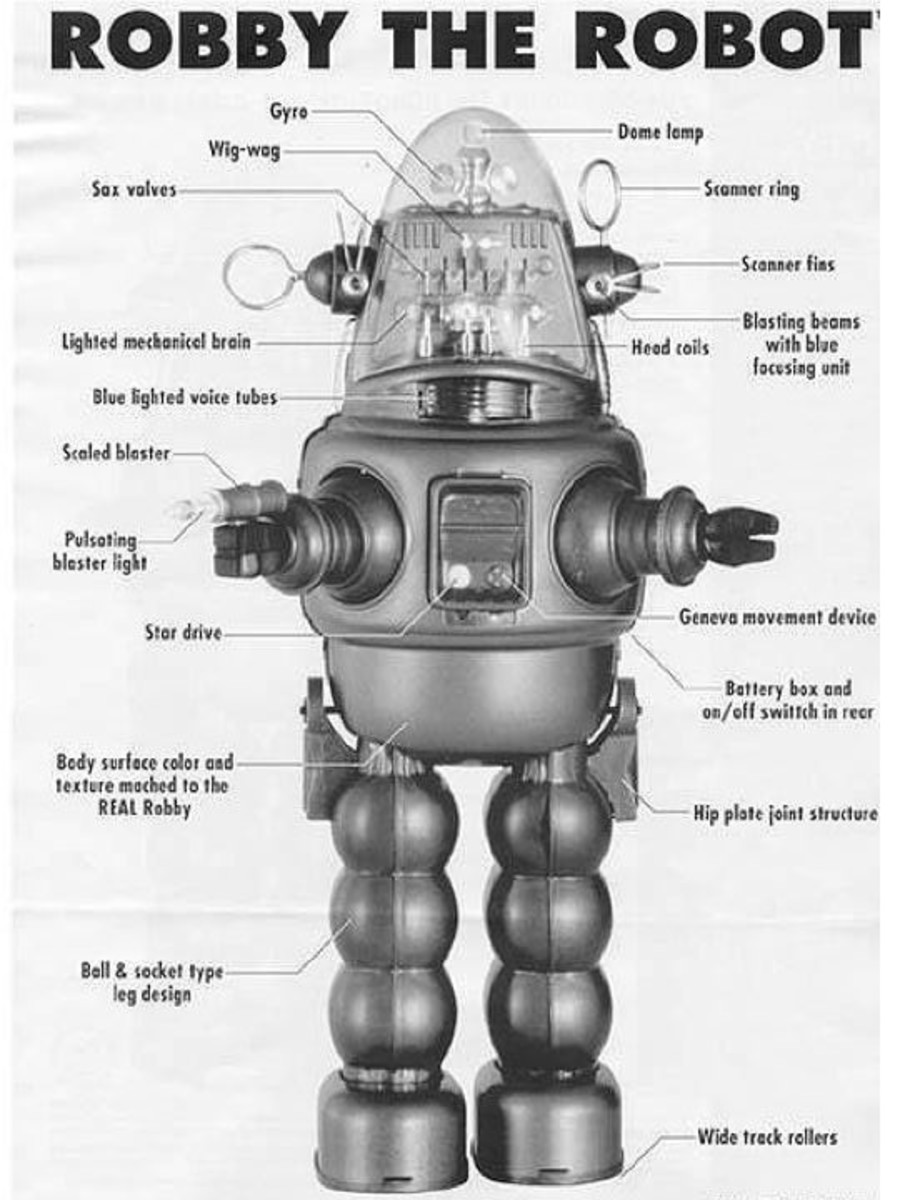 Robby The Robot Parts
