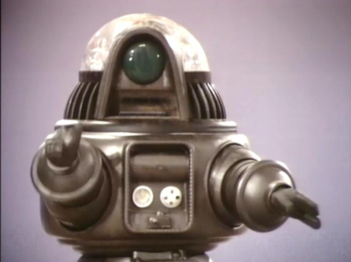 Evil Robby The Robot
