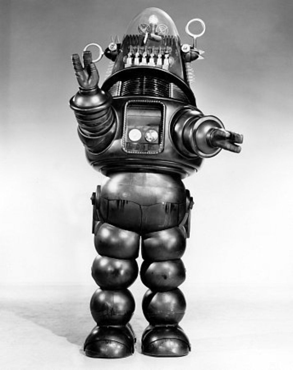 Iconic Robby The Robot