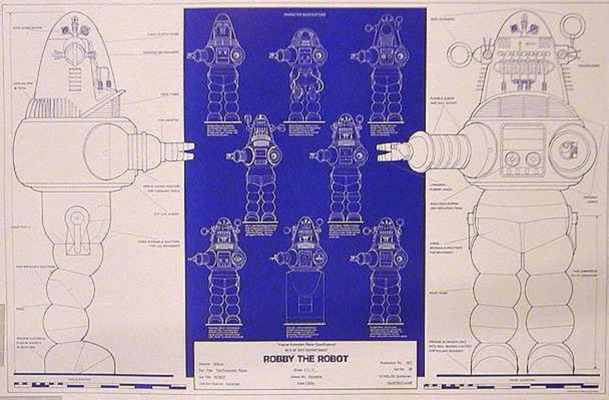 Robby The Robot Blueprints