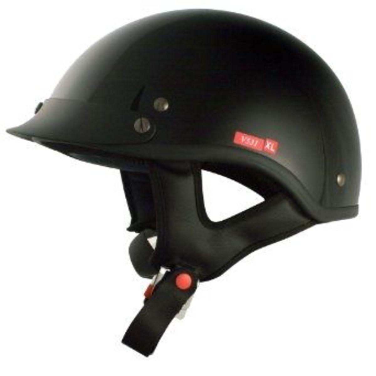 vcan half helmet
