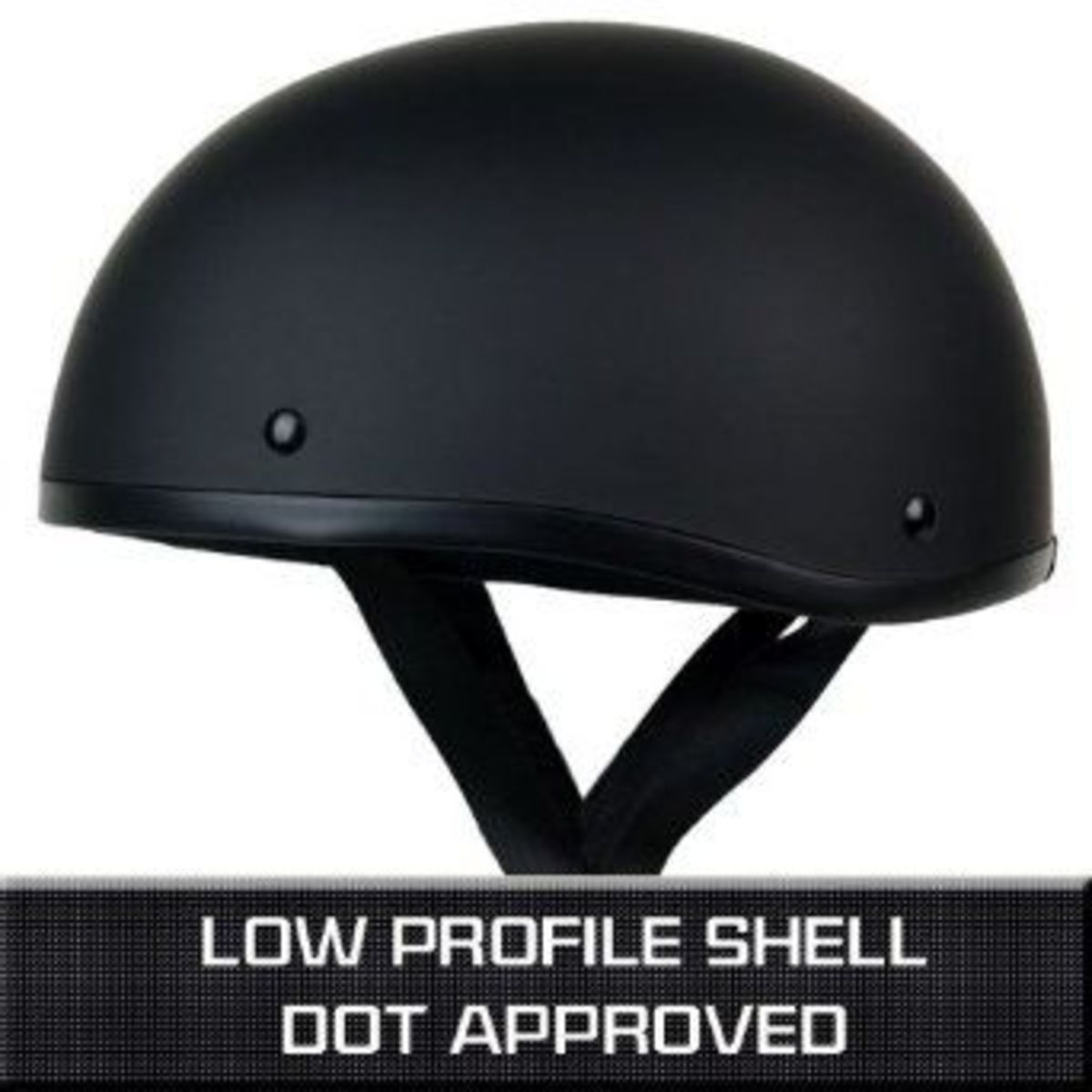 low profile half helmet
