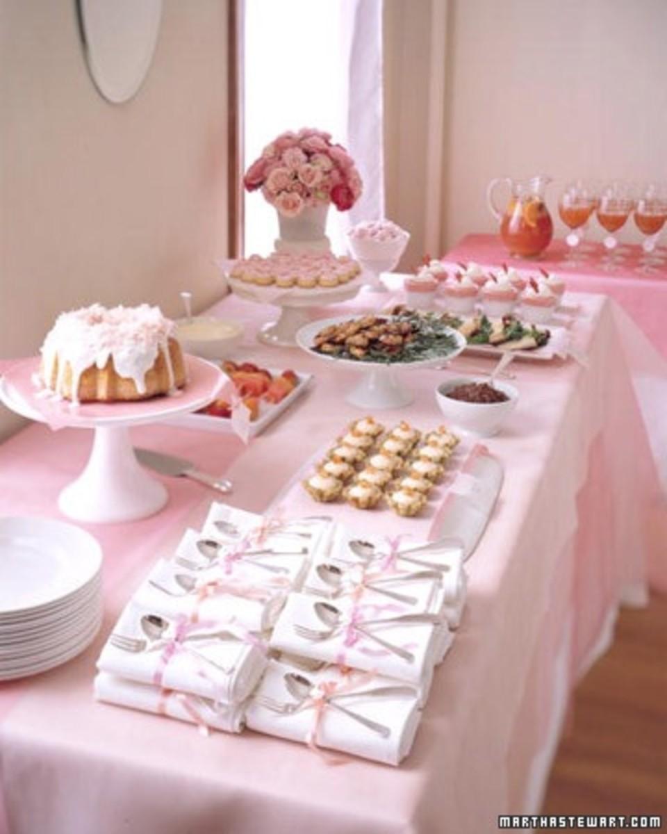 The Bridal Shower Part III Menu Ideas