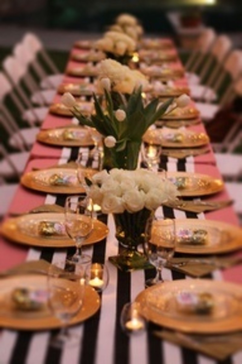 Elegant Bridal Shower Dinner