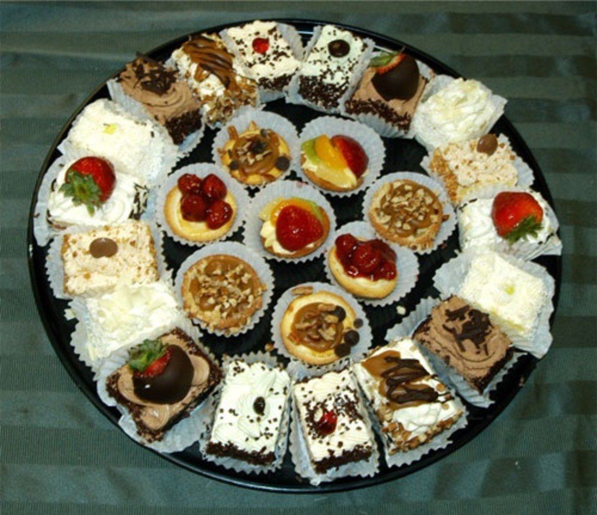 Assortment Of Mini Pastries