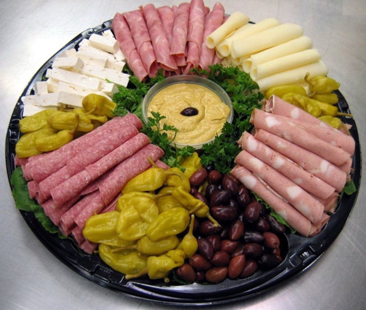 Coldcuts And Cheese Platter