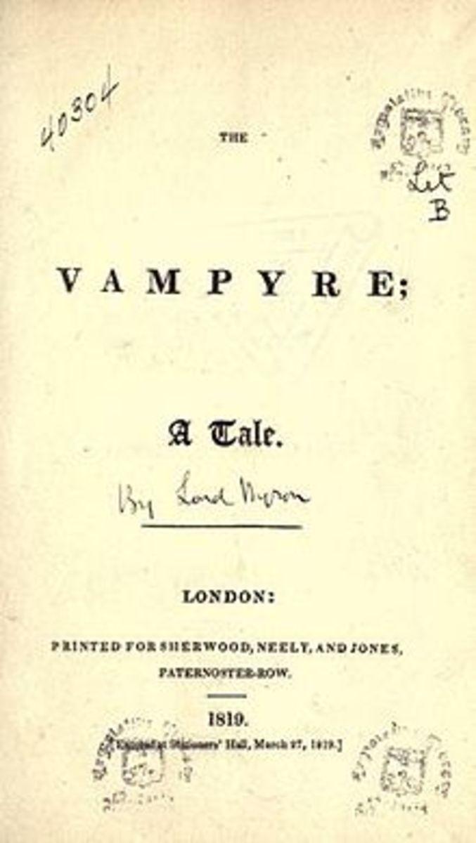 The Vampyre by John Polidori