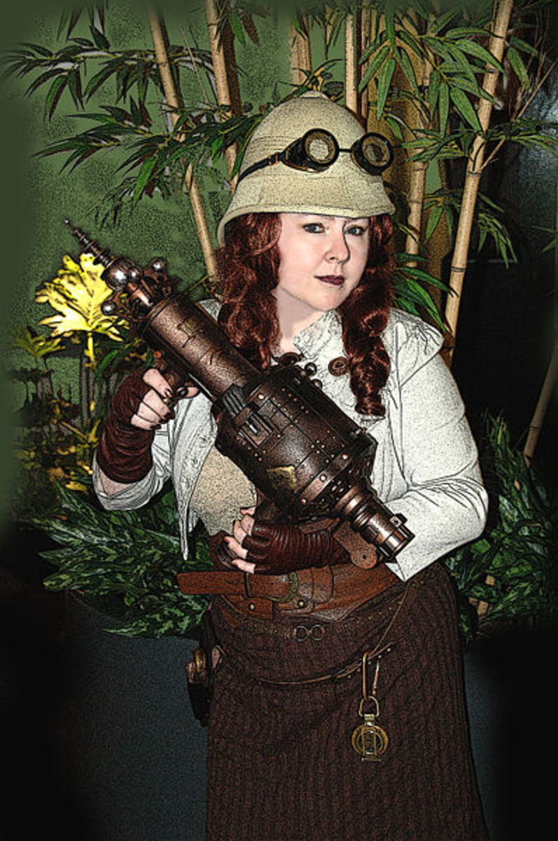 Steampunk adds a fun element to any costume idea.
