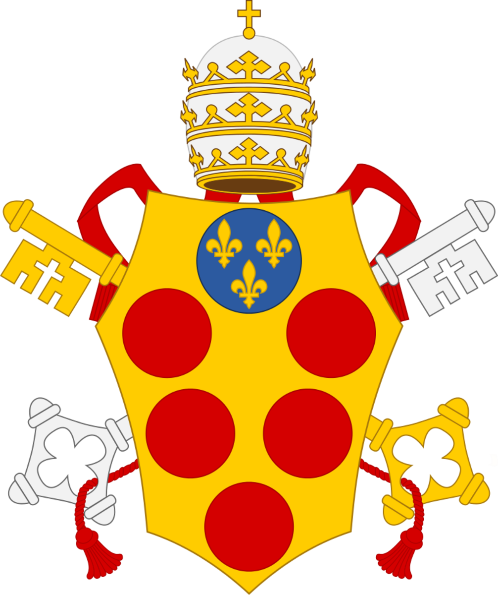Cost of Arms of the Medici Popes: Leo X, Clement VII, Pius IV, and Leo XI.