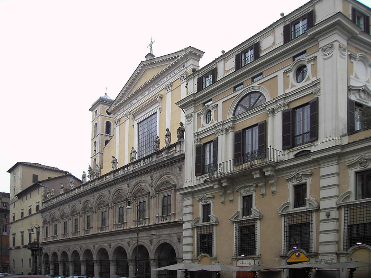 Palazzo Colonna today.