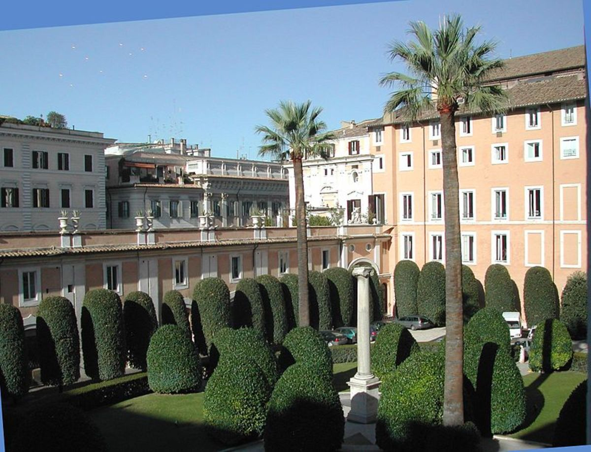 Palazzo Colonna - The Colonna Palace In Rome