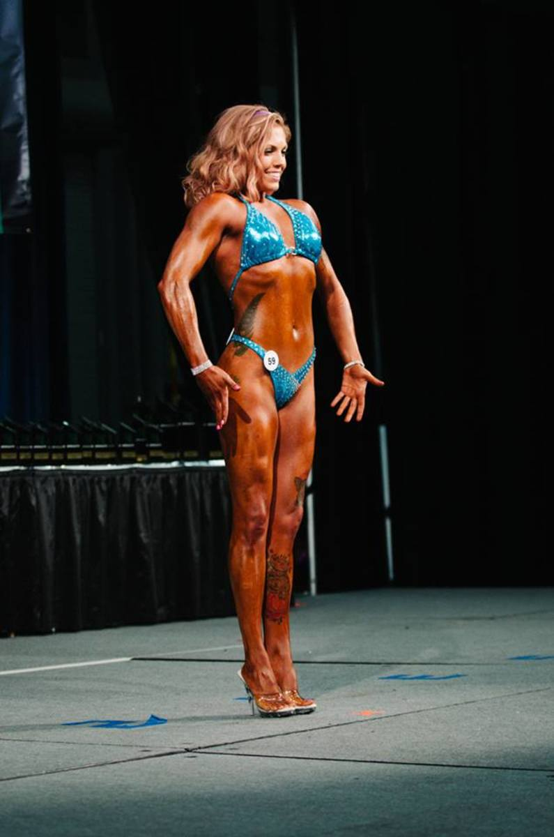 Sally Anderson (October 2014) on Plant Built Vegan Muscle Team.