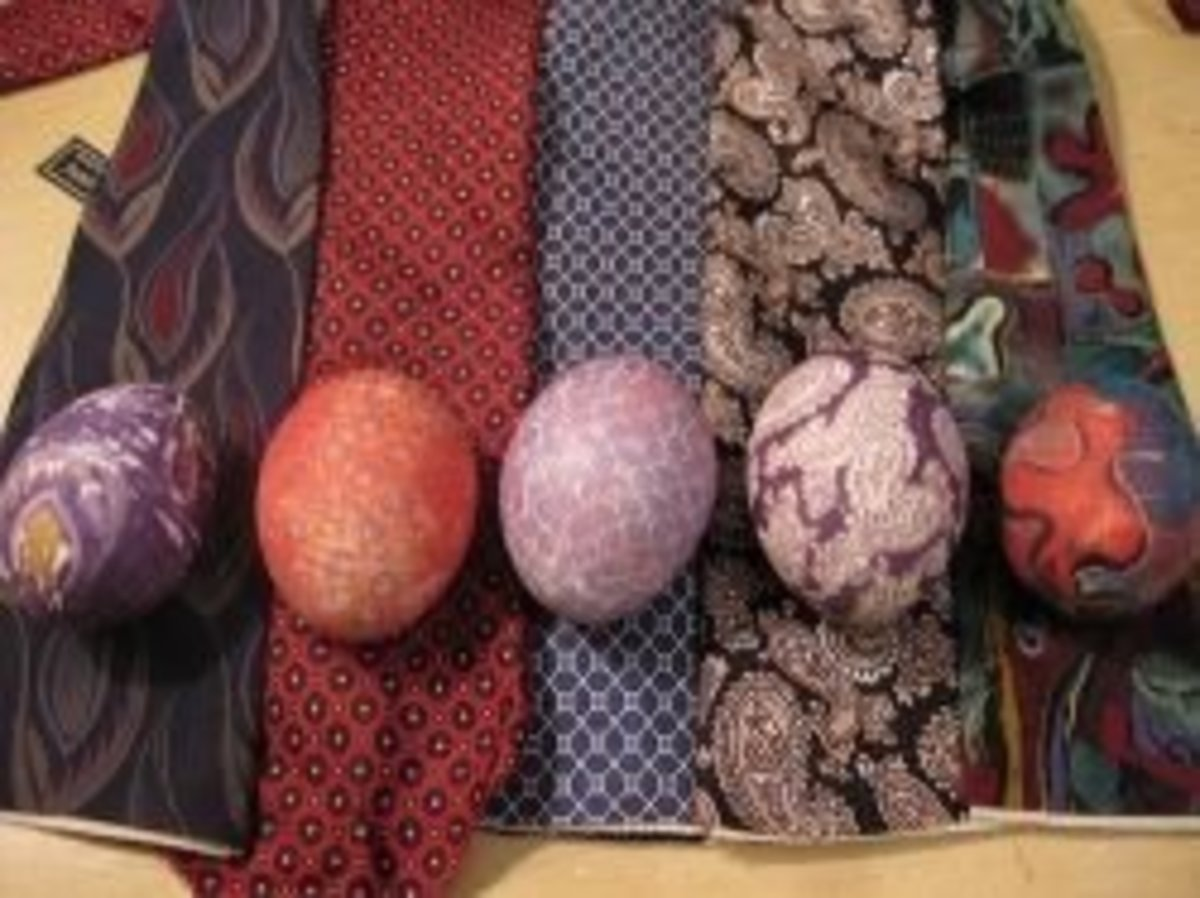 Silk-dyed eggs were a completely new idea to me, and I am so looking forward to trying these with kids. Fox Flat provides one method and there is another technique described in the link to the left of this photo.