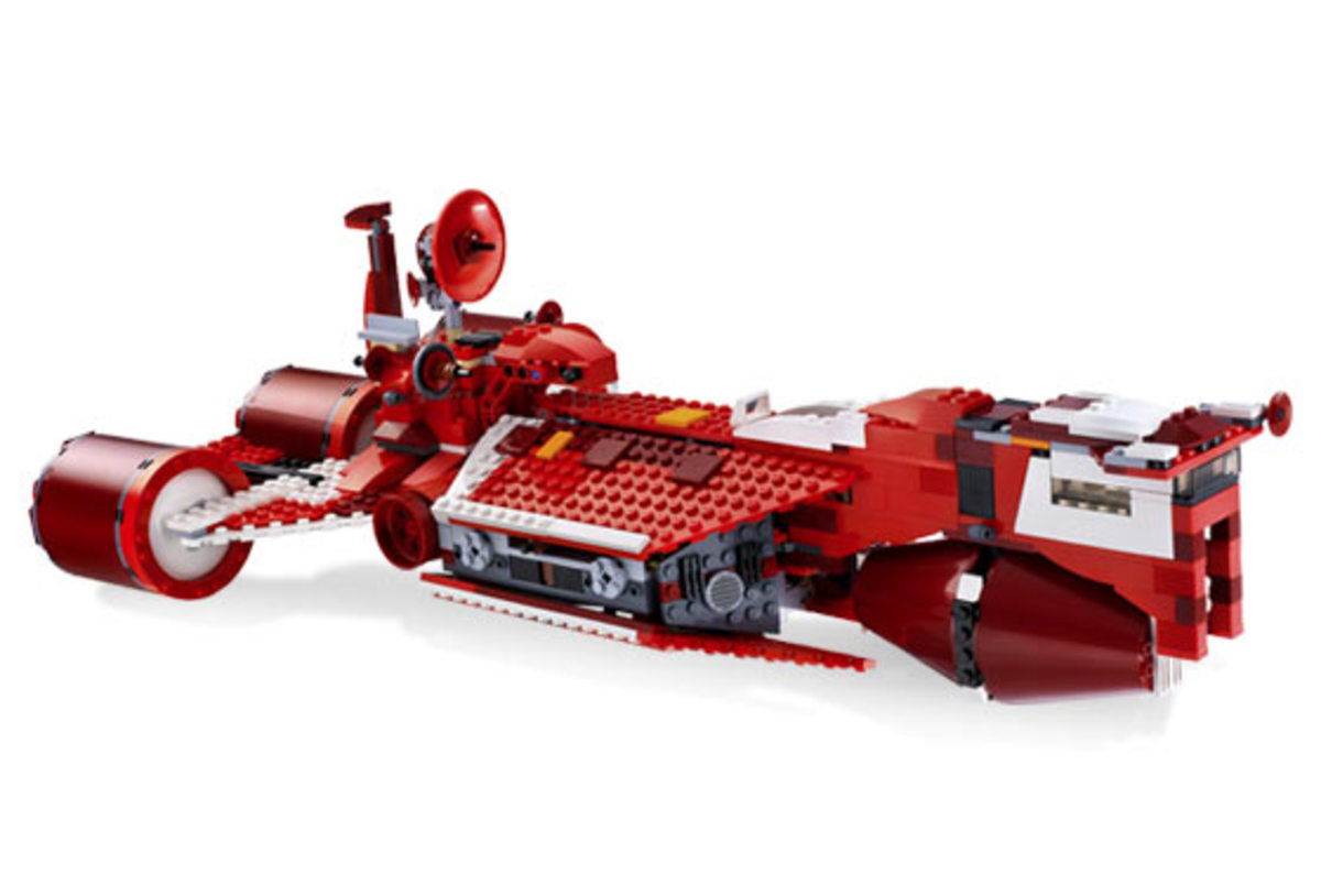 LEGO Star Wars Republic Cruiser 7665 Assembled